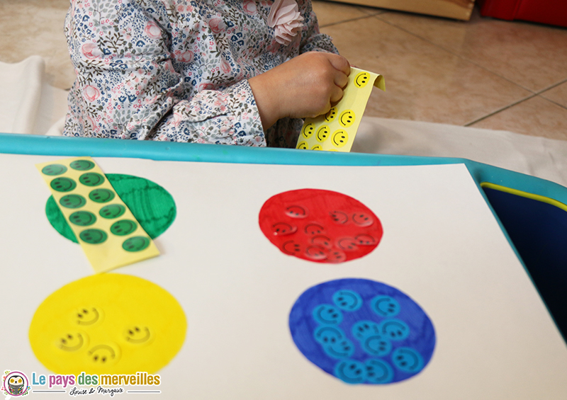 apprentissage couleur jeu