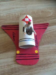 avion rouleau papier toilette