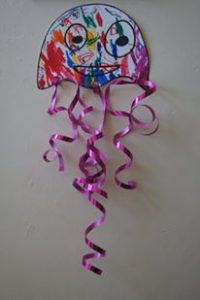 bricolage meduse