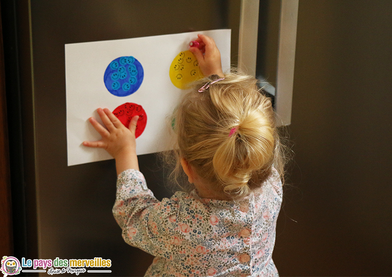 jeu couleur montessori
