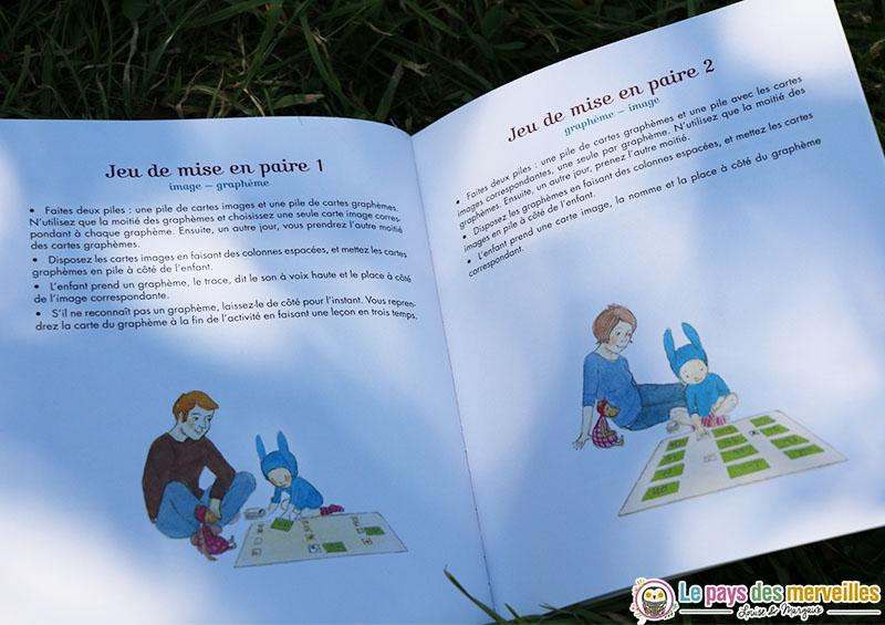 jeu montessori lecture ecriture