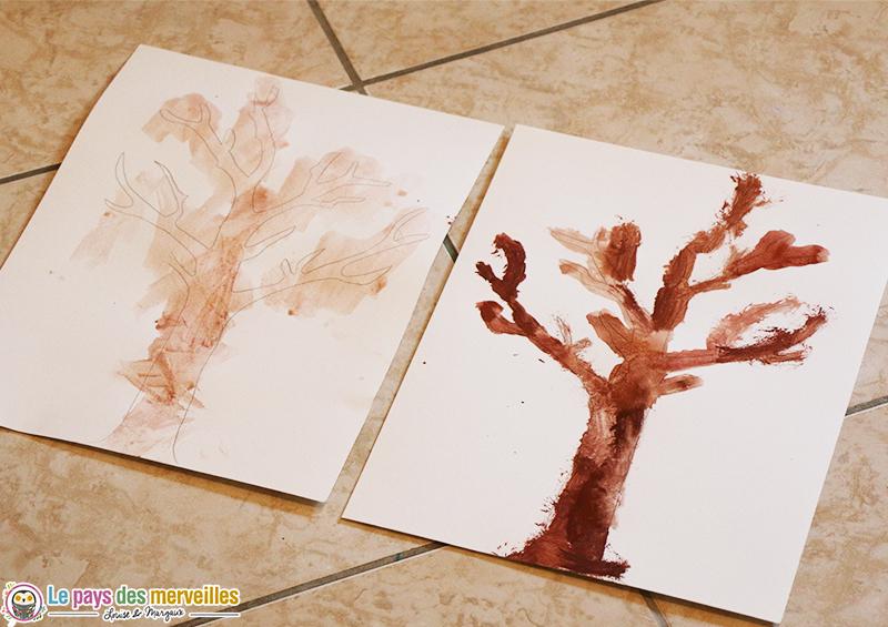 activite-manuelle-arbre-automne-peinture