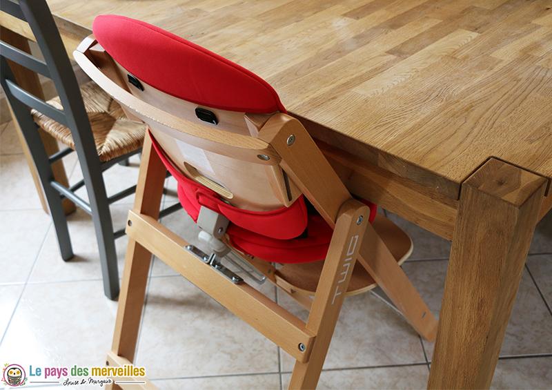 chaise haute en bois volutive et pliable twig de jan. Black Bedroom Furniture Sets. Home Design Ideas