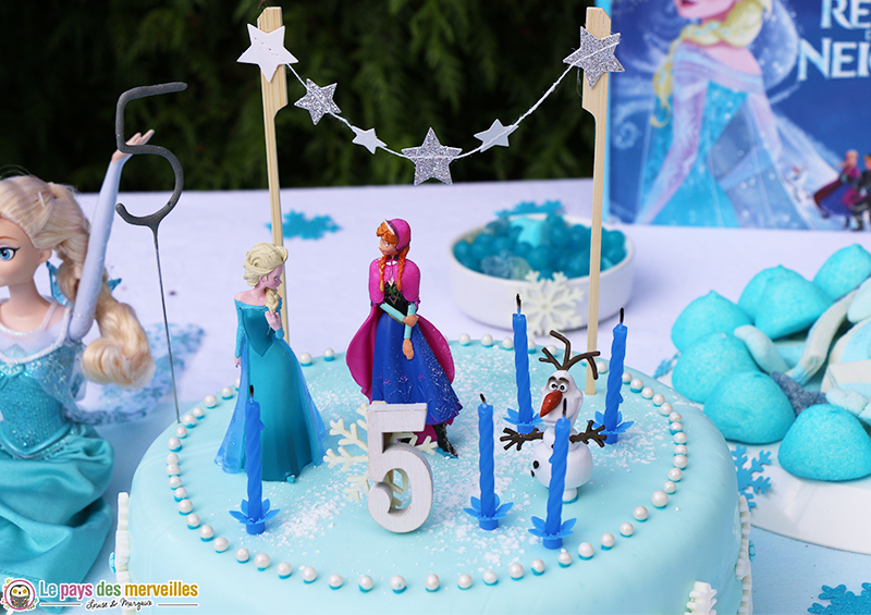 decoration-gateau-reine-des-neiges