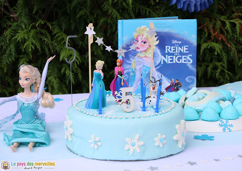 cet anniversaire reine des neiges qu 39 elle attendait tant 5 ans de louise. Black Bedroom Furniture Sets. Home Design Ideas