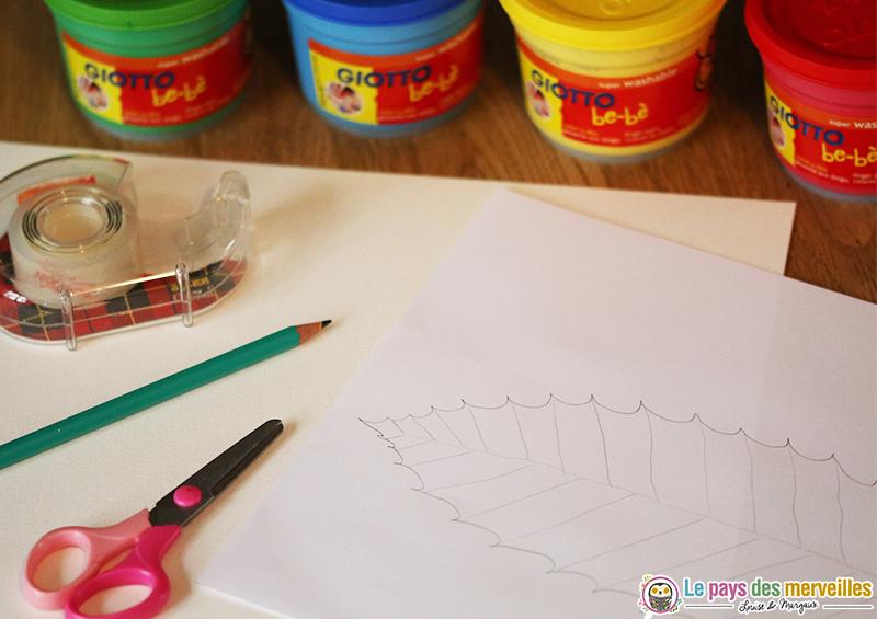 materiel-empreinte-feuille-peinture-doigt