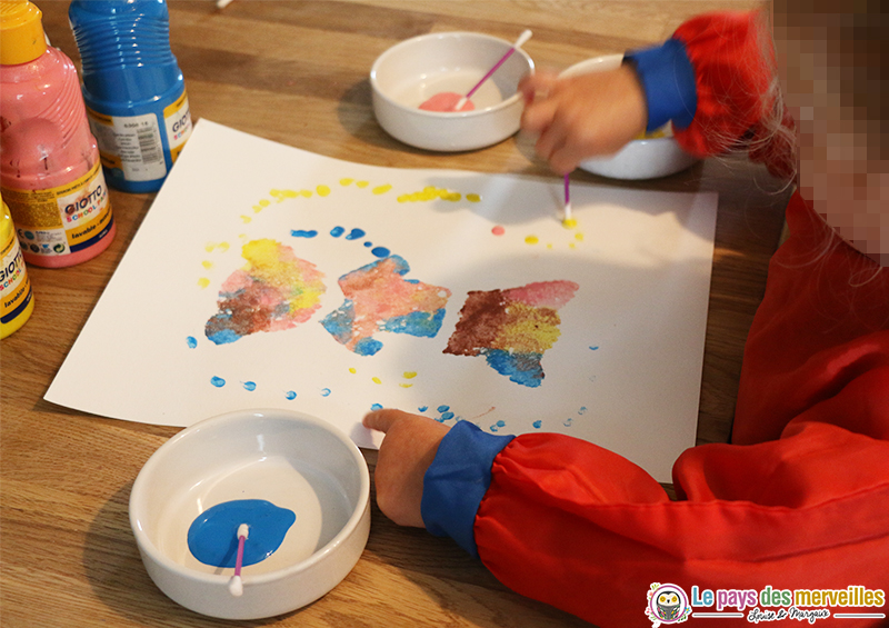 peinture-coton-tige