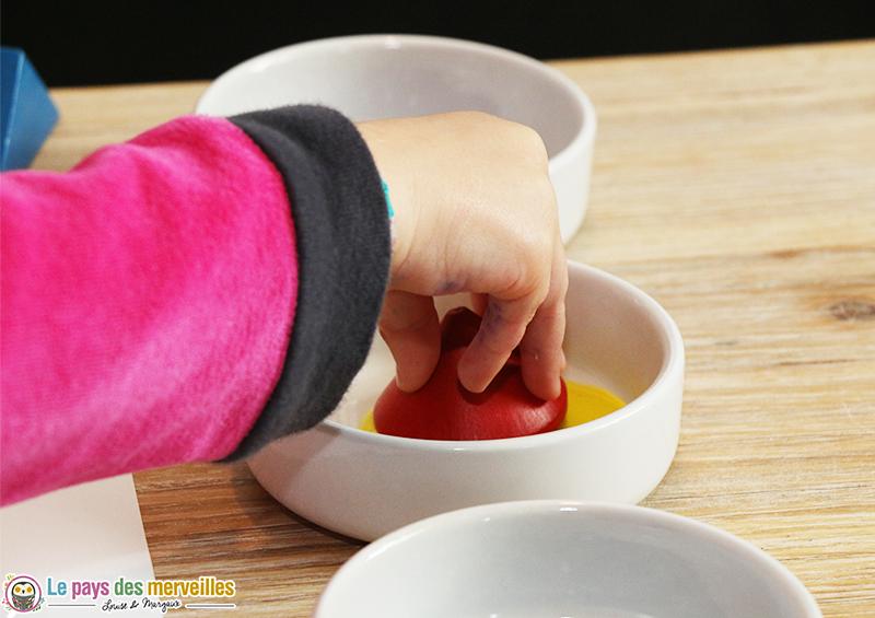 activite manuelle enfant peinture