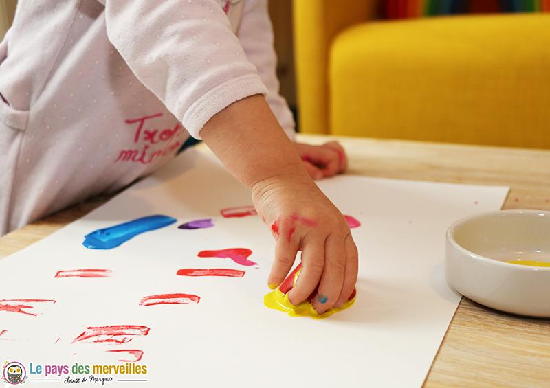 activite peinture jouet