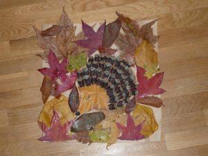bricolage-automne-feuille-herisson