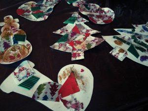 decoration noel patchwork