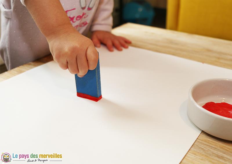 peinture libre enfant