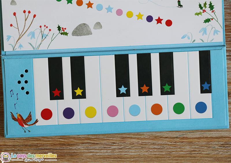 clavier livre piano