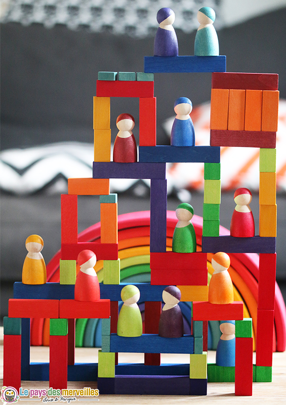 construction cube bois grimms