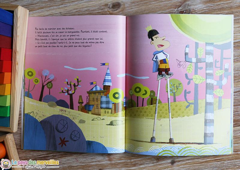 illustrations histoire de pepin qui voulait etre un grand roi