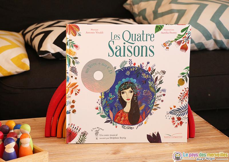 livre cd les quatre saison vivaldi