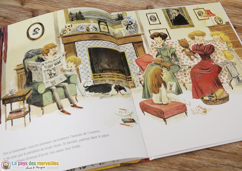 livre enfant noel ourson