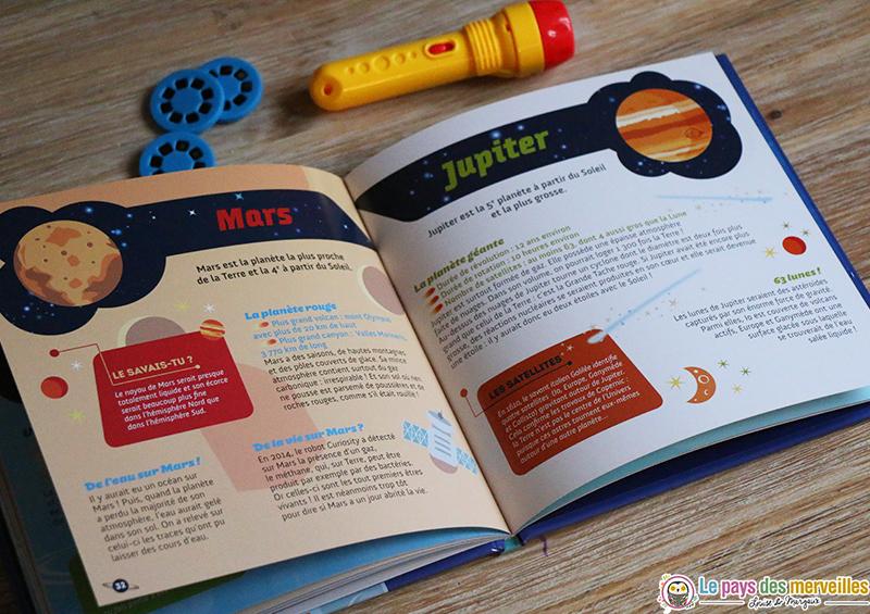 livre enfant planetes