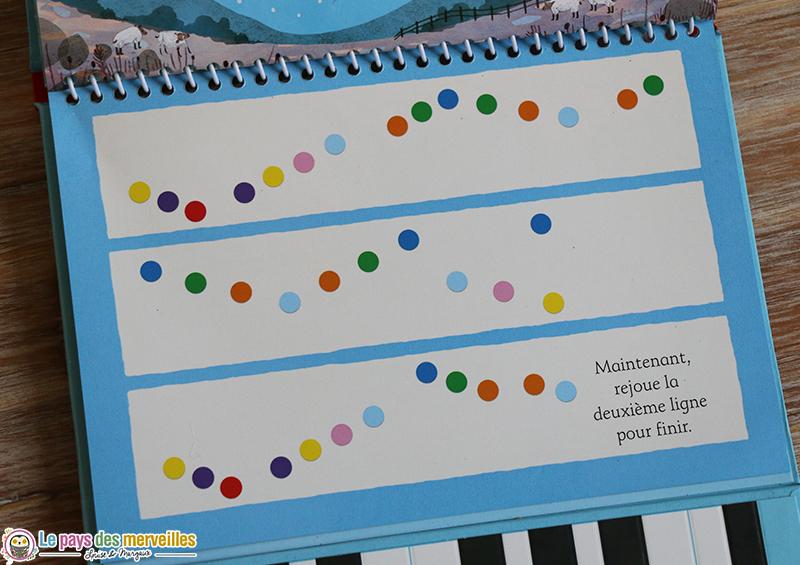 partition livre piano enfant