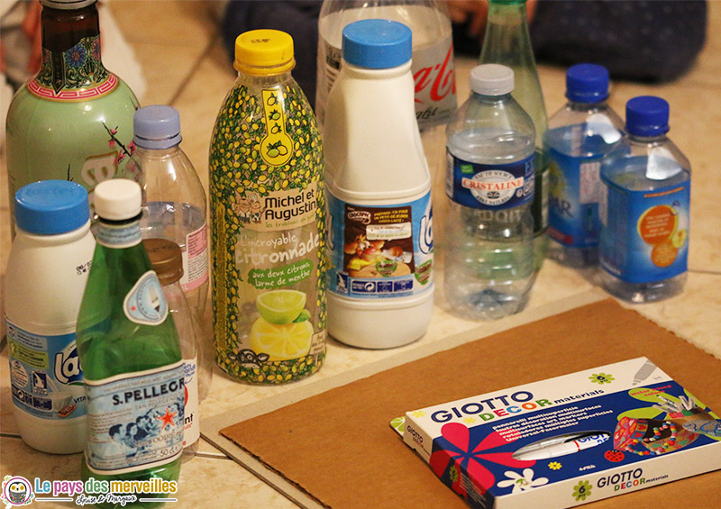activite recyclage bouteille