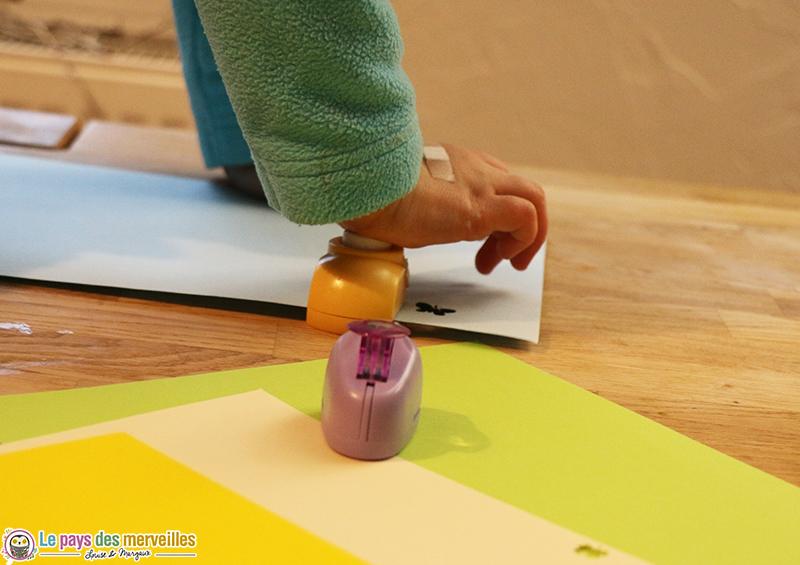 confettis perforatrice