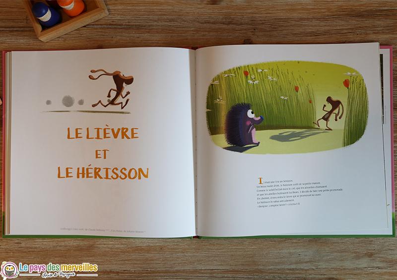 Le lièvre et le Hérisson