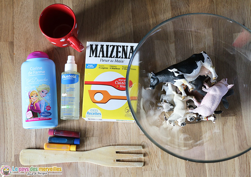 ingredient pate maizena gel douche