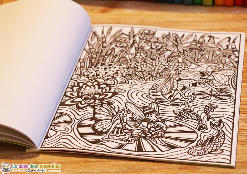 peinture magique fee lutin