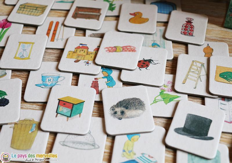 cartes jeu de loto Balthazar