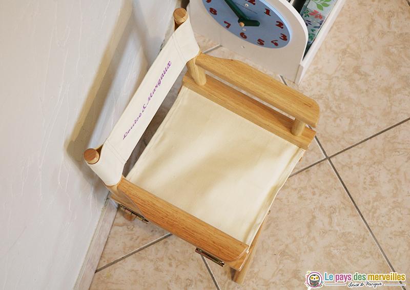 idee cadeau personnalise chaise enfant