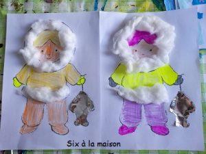esquimau coloriage