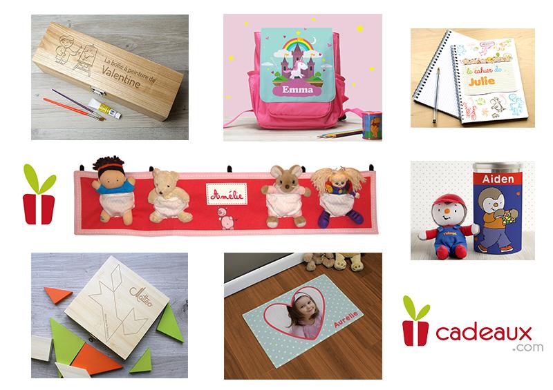 idees cadeaux personnalises pour enfant