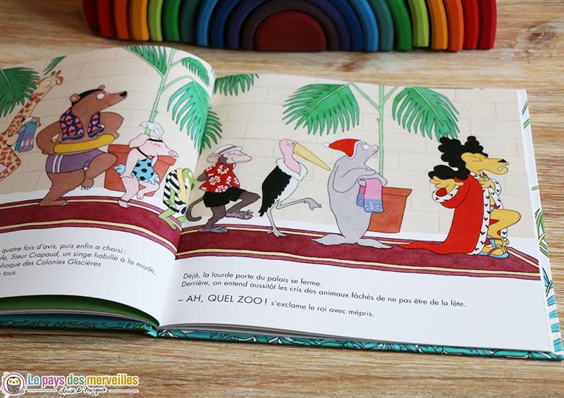les animaux du livre la piscine magique