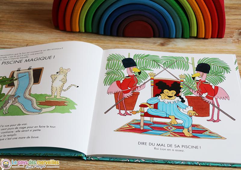 illustrations du livre jeunesse la piscine magique