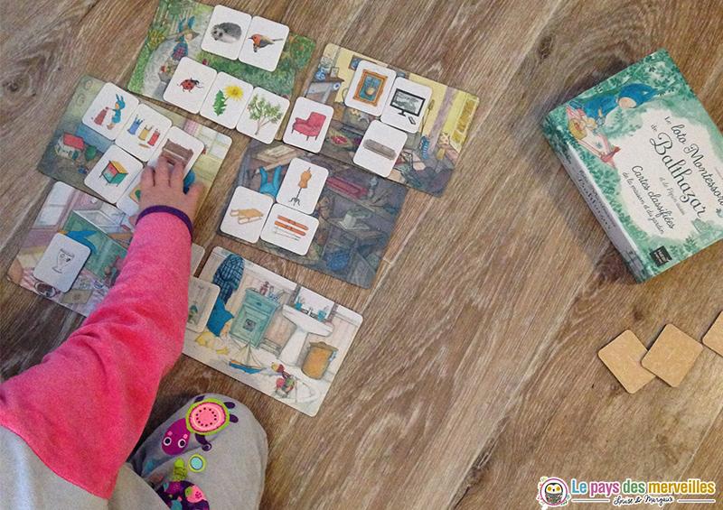 jeu libre loto Montessori