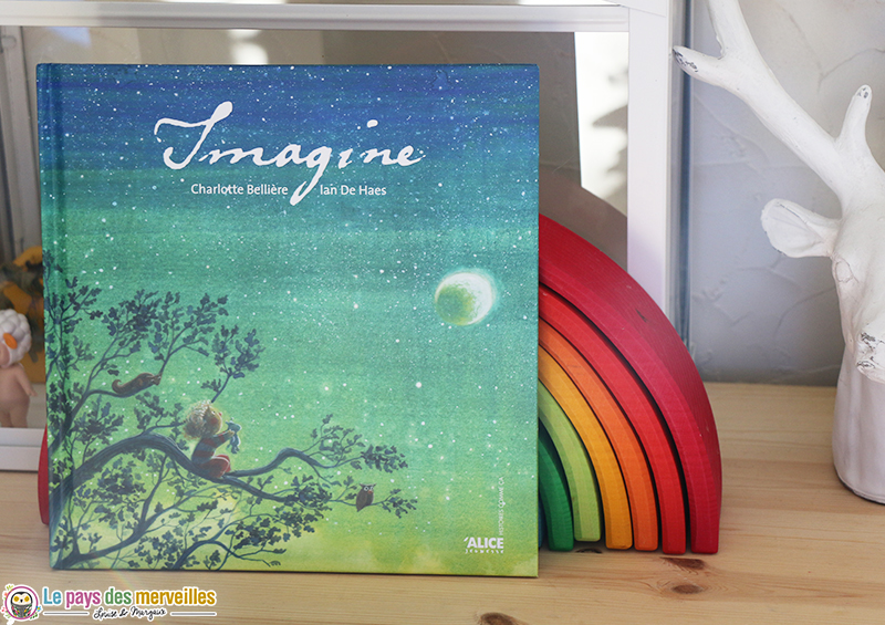 Album jeunesse Imagine des éditions Alice jeunesse