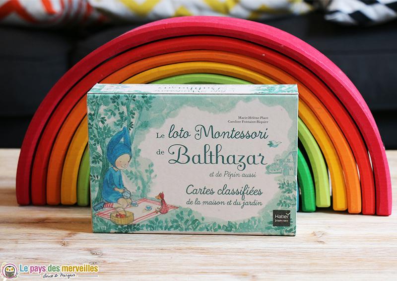 Jeu le loto Montessori de Balthazar et de Pépin aussi