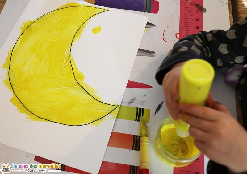 Peinture autonome avec les tubes Mala de chez Ikea