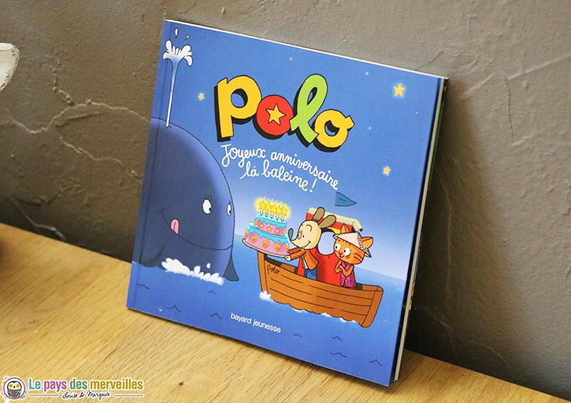 Premier tome de la collection de livres Polo