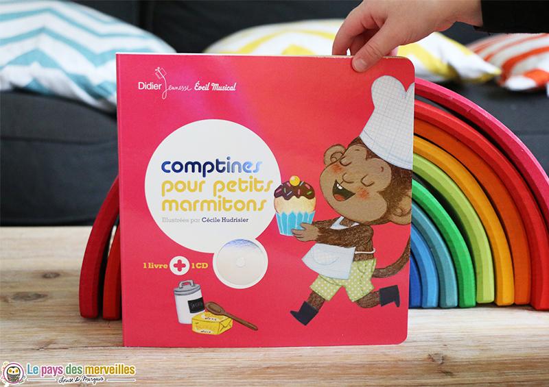 Comptines pour petits marmitons livre-cd