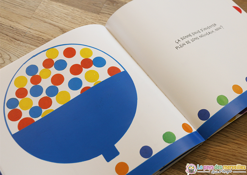 créer des nouveaux sons livre interactif Hervé Tullet