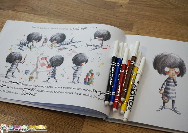 Illustration du livre De quelle couleur sont les bisous ?