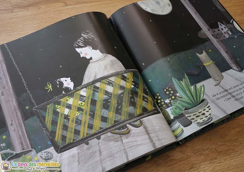 Illustrations d'Aimée Sicuro dans l'album Clair comme lune