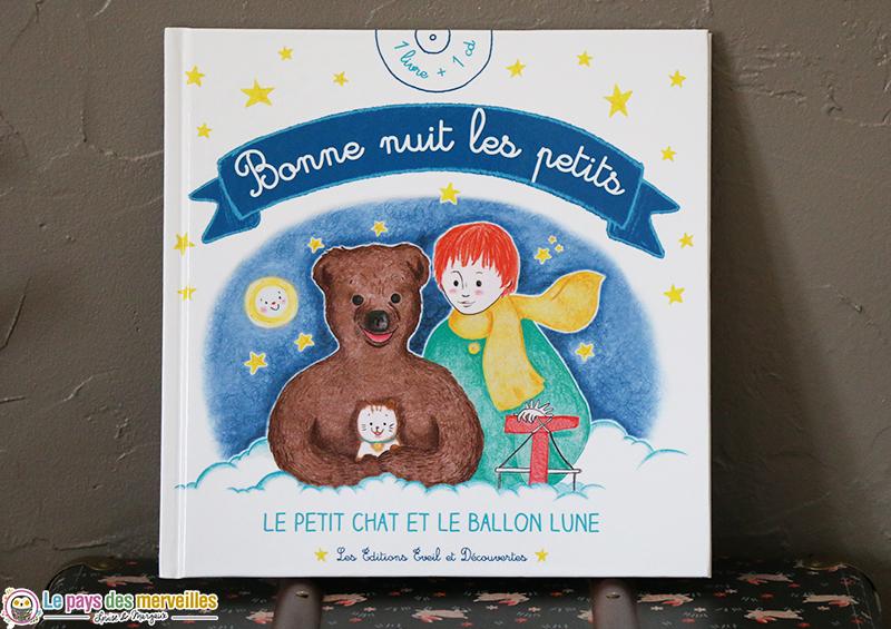 Bonne nuit les petits le petit chat et le ballon lune livre cd - Personnage bonne nuit les petit ...