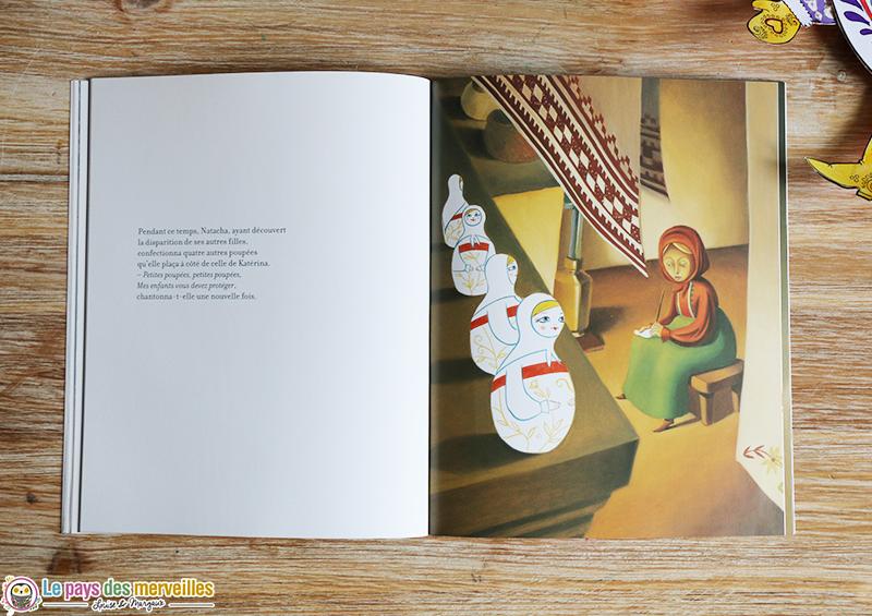 Illustration poupée russe
