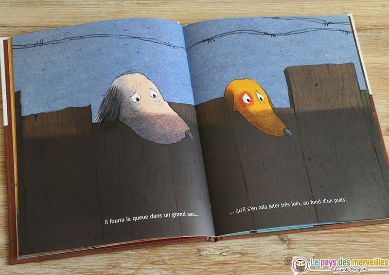 livre jeunesse maltraitance chiens