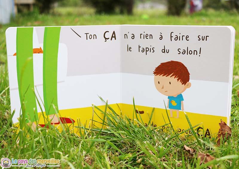 """Livre """"Le ça"""" école des loisirs"""