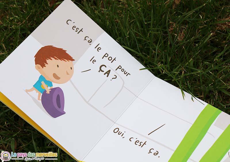 livre enfant le pot