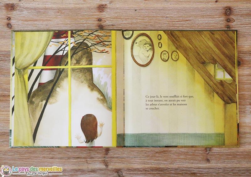"""illustration du livre """"Et j'ai couru"""""""