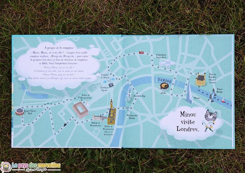 itinéraire de Minou en visite à Londres